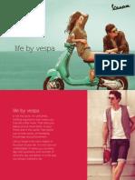 Vespa Brochure in India