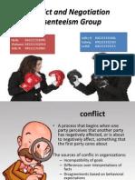 Organizational Behavior Conflict and Negotiation