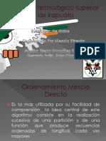 10. Ordenamiento Por Mezcla Directa[1]