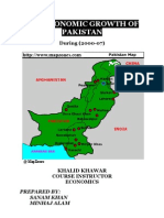 Pakistan Economic Growth 00-07