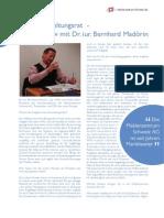 Maklerzentrum Schweiz AG Interview Madorin