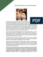 Por Qué Susana Villarán Debe Gobernar Un Segundo Período