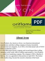 Avon and Oriflame