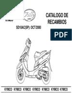 Kymco Filly-50 Sd10ac