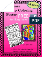 Art With Jenny k Free for FB-summer Group Poster