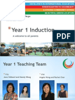 Y1 Induction June 2014