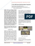 Assessment For Use Of Gravel In Pervious Concrete