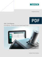 DSC 214 Polyma – Differential Scanning Calorimeter (-170°C to 600°C)