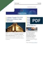 Newsletter FNTM martie 2014