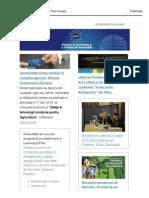 Newsletter FNTM aprilie 2014
