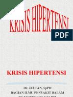 Krisis Hipertensi.
