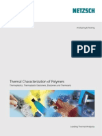 Thermal Characterization of Polymers - Thermoplastics, Thermoplastic Elastomers, Elastomers and Thermosets