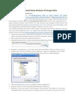 Cara Membuat Unattended Setup Windows XP Dengan NLite