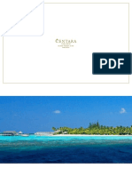 Centara Grand Island Resort Spa Maldives Brochure