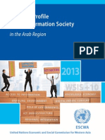 Regional Profile of the Information Society in the Arab Region - 2013