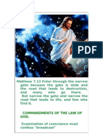 COMMANDMENTS OF THE LAW OF GOD.