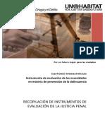 CUESTIONES INTERSECTORIALES Instrumento de Evaluación de Las Necesidades en Materia de Prevención de La Delincuencia