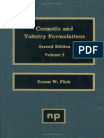 Cosmetic and Toiletry Formulations -2nd Edition -Vol 5 - Flick