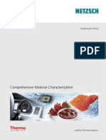 Comprehensive Material Characterization