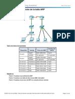 Laboratorio.2.1.7 - Examine the ARP Table (100%)