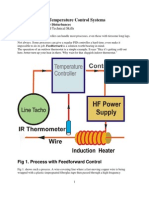 Feedforward on Temperature Control Systems.