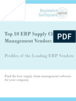 Top 10 ERP Supply Chain