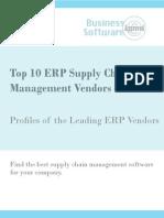 Top 10 ERP Supply Chain