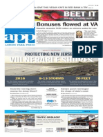 Asbury Park Press front page Wednesday, June 11 2014