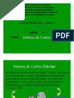Sistema Costo Estandar 2008
