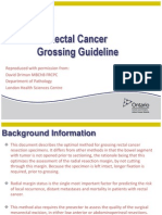 Rectal Cancer Grossing Guideline