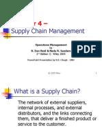 Supply Chain Mngt