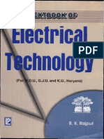 A Textbook of Electrical Technology by R.K.rajput