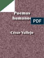 Poemas humanos - César Vallejo