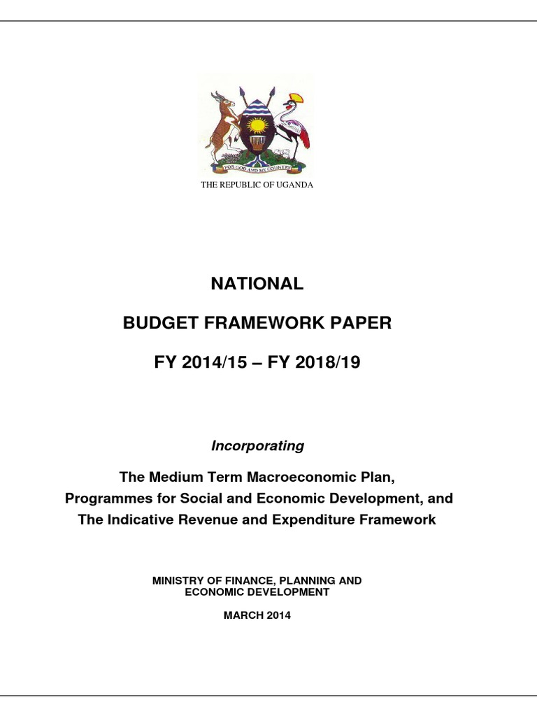 National Budget Framework Paper 14 15 Gmos Lan 012 Wiring Diagram Share The Knownledge