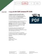 Máquina de Café Lavazza EP 2100