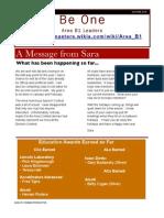 Toastmasters District 31 - Area B1 Autumn Newsletter