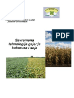 Savremena Tehnologija Gajenja Kukuruza i Soje