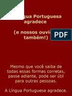 Nossa Língua portuguesa, como utilizá-la melhor