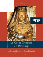 79303878 Great Tresasure of Blessings Book of Prayers to Guru Rinpoche