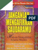Hukum Mengkafirkan Sesama Muslim - Fitnatu at-Takfir Wa Hukmu Ma Anzalallah