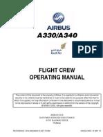 A330-340 FCOM 15 SEP 2013