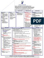 Leaving Certificate, Leaving Certificate Applied & Leaving Certificate Vocational Programme - Schedule of Examination Dates 2014