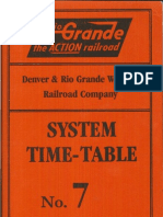 D&RGW System TT #7 May 4 1986