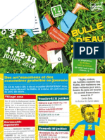 Programme Bulle d'Eau z'Air - CDLN 2014