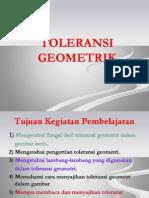 Gambar Teknik Toleransi Geometrik 1
