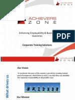 Corporate Training Profile - Updated