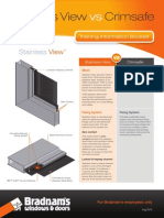 bdm stainlessview training booklet v7