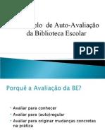 Modelo de Auto-Avaliação da BE