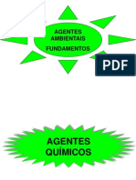 AGENTES AMBIENTAIS - FUNDAMENTOS
