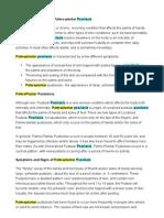 Palmoplantar Psoriasis, Palma-plantar Psoriasis